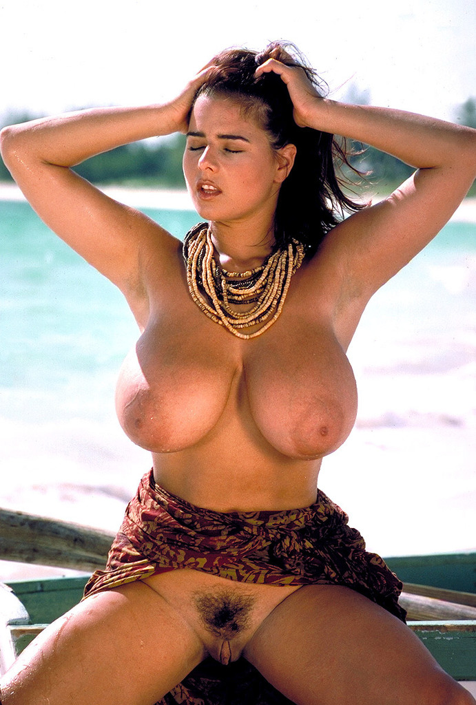 Nude boobs at the beach