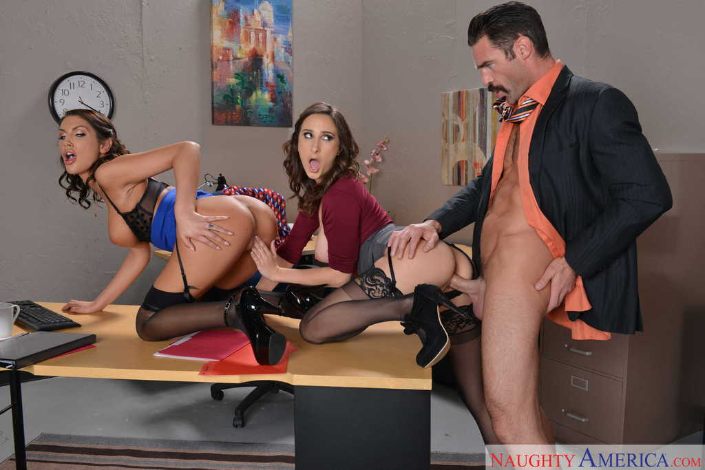secretary threesome stories