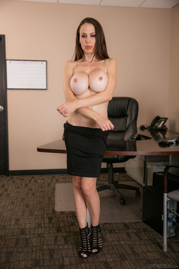 Big tits at work mckenzie lee