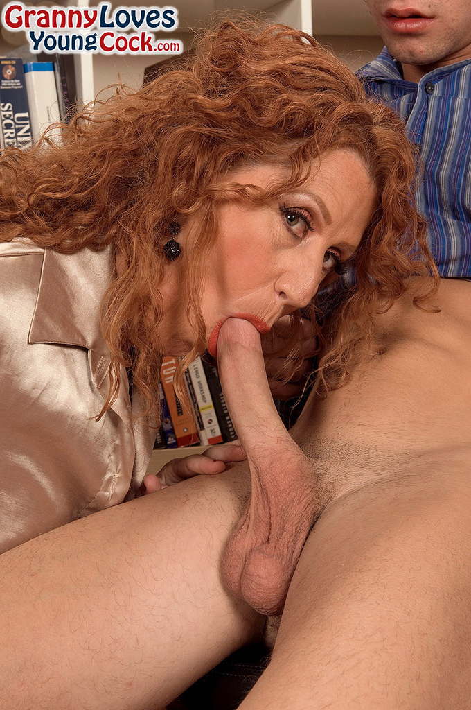 Grandma Loves Young Cock
