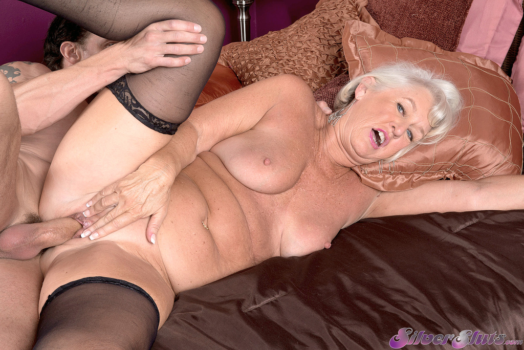 Drilled maid screaming facial