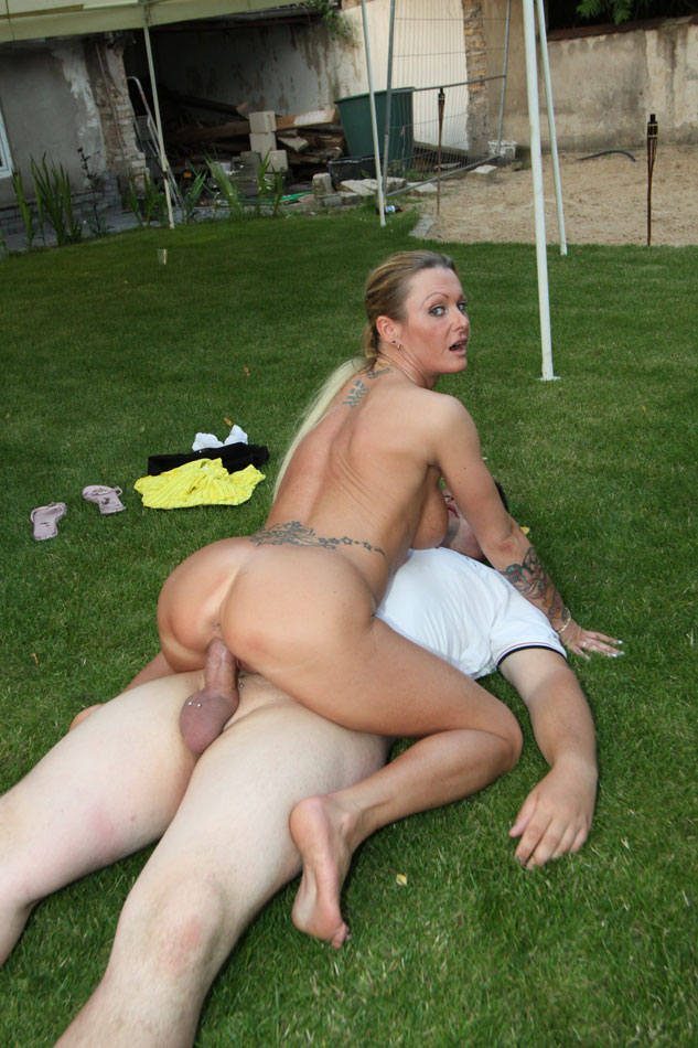 Dude Ass Fucked On The Grass