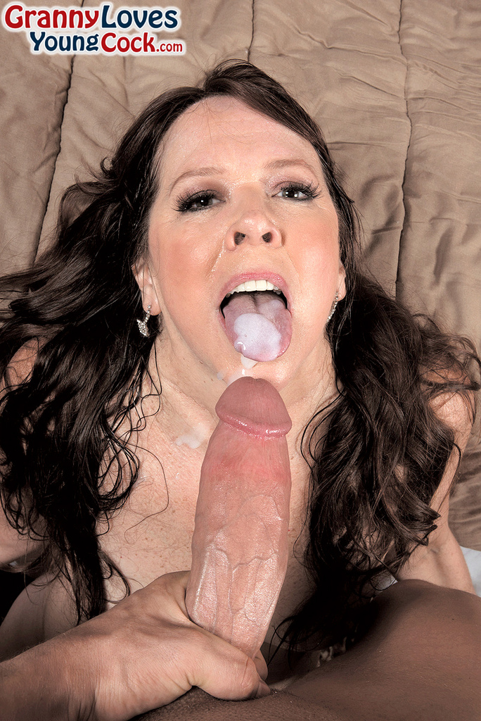 Retro Blowjob Cum Mouth