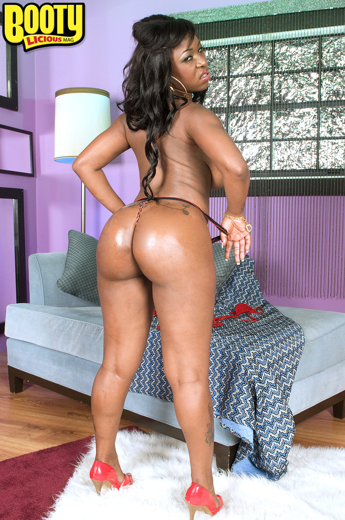 Big Booty Ebony Dildo Ride