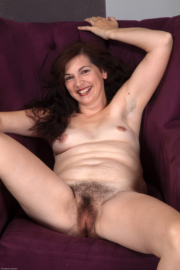 Hairy middle aged women