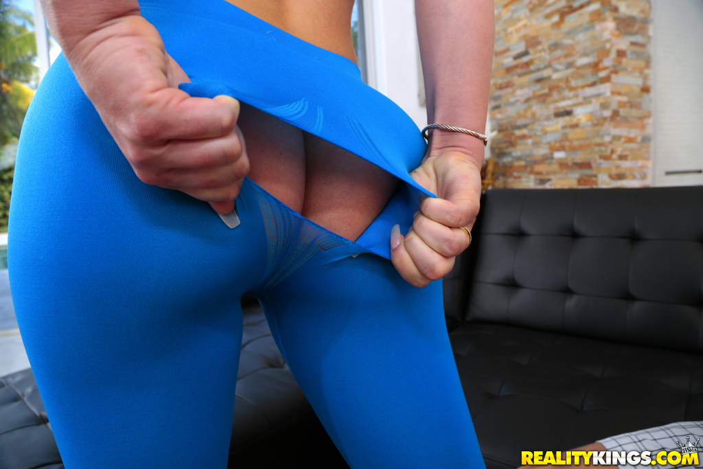 Fucked Ripped Yoga Pants