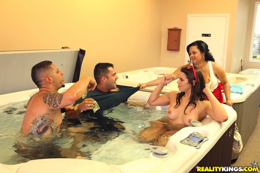 Hot Tub Sex Games