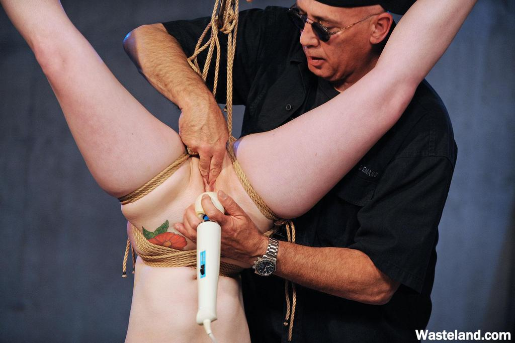 Tether suspended consort is masturbated upside down until she orgasms porn photo #325052499 | Wasteland, Bondage, Close Up, Dildo, Fetish, Fingering, Legs, Nipples, Pussy, Shaved, Tiny Tits, mobile porn