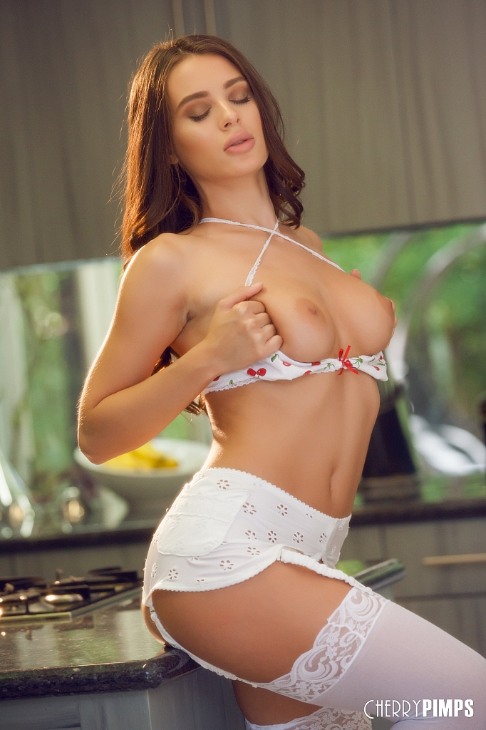 Lana rhoades stockings