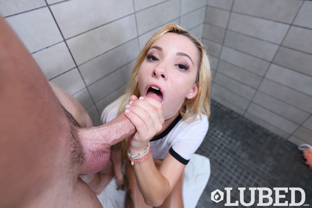 Bleached-blond youngster Kenzie Reeves blows sperm lathers later giving head in the shower porn photo #319725298 | Lubed, Kenzie Reeves, Big Cock, Blonde, Blowjob, Cumshot, Facial, Oiled, Shaved, Shower, Teen, Tiny Tits, mobile porn