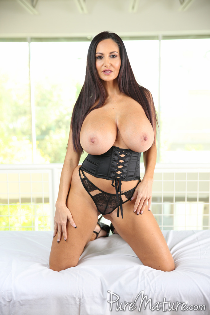 Brunette Chick Ava Addams Releases Her Massive Tits From Her Sexy Bra