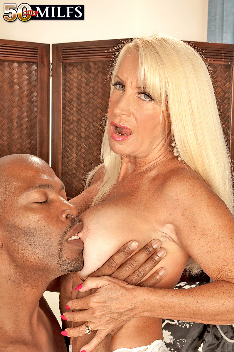 mature woman realizes he interracial sex fantasies with a black stud