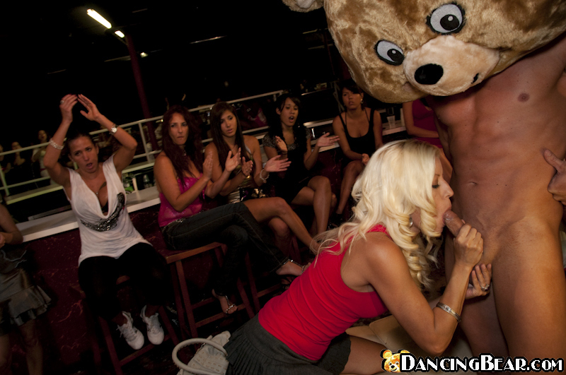 Bachelorette party gets wild and crazy when ladies start blowing male dancers