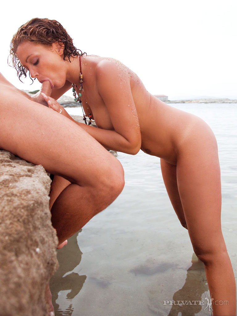Nude beach shaved fuck