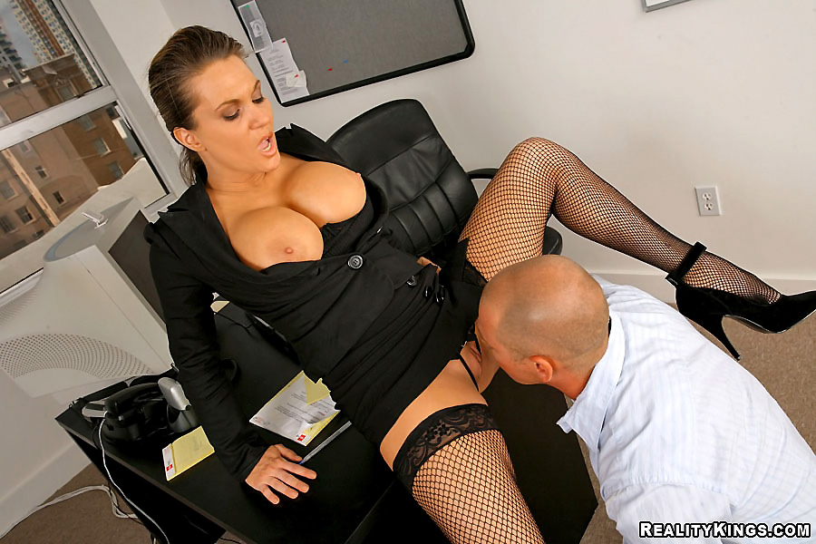 Big Tit Secretary Threesome