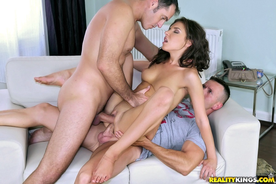 time penetration First threesome double