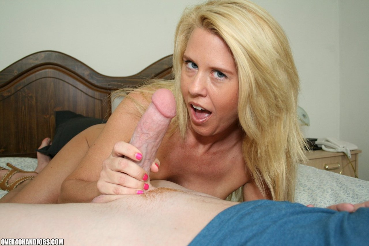 Mom Strokes Sons Cock Till He Cums On Gotporn