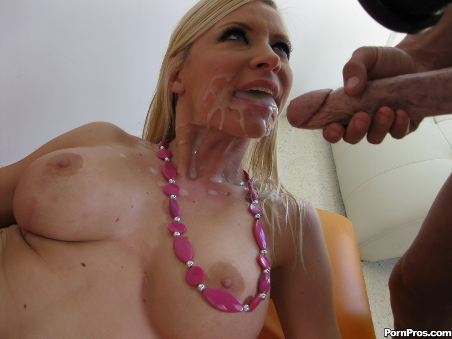 naked cum surprise in mouth