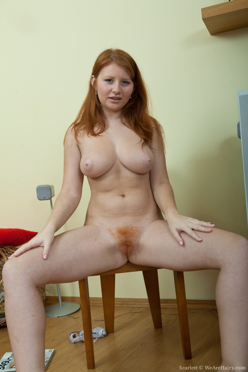 Ginger girls hairy