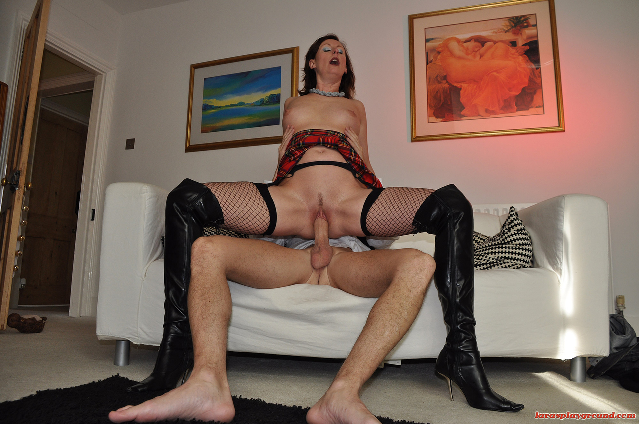 Horny wives fucked in boots