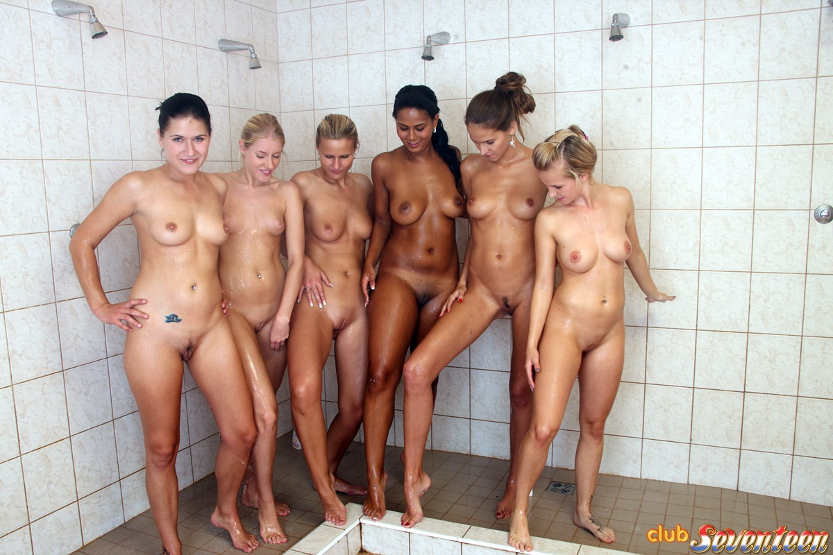 hot cheerleader naked group