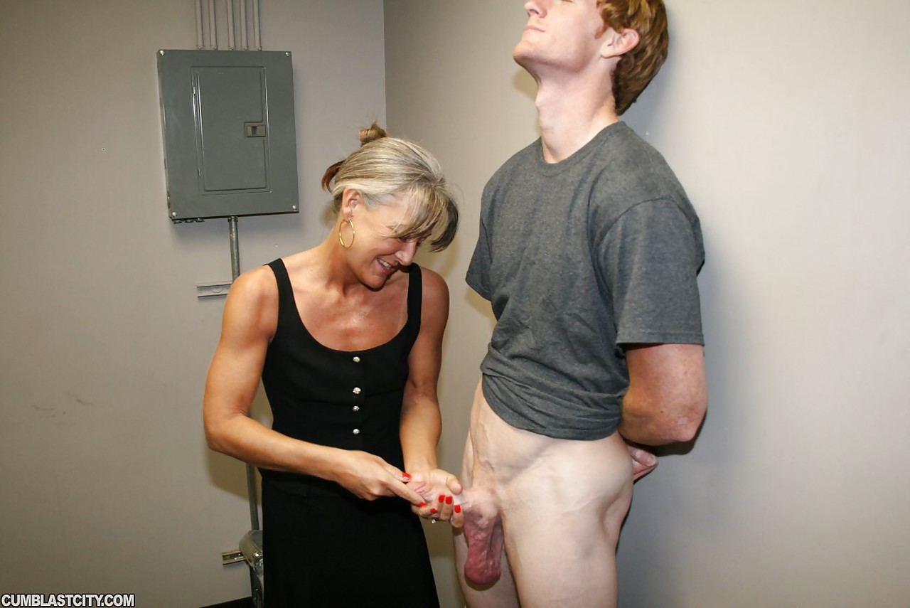 Tits, old granny sex handjob hot