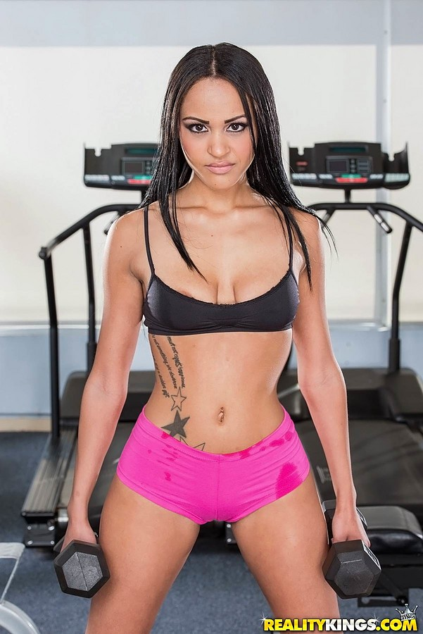 from Emiliano naked girl gym clothes