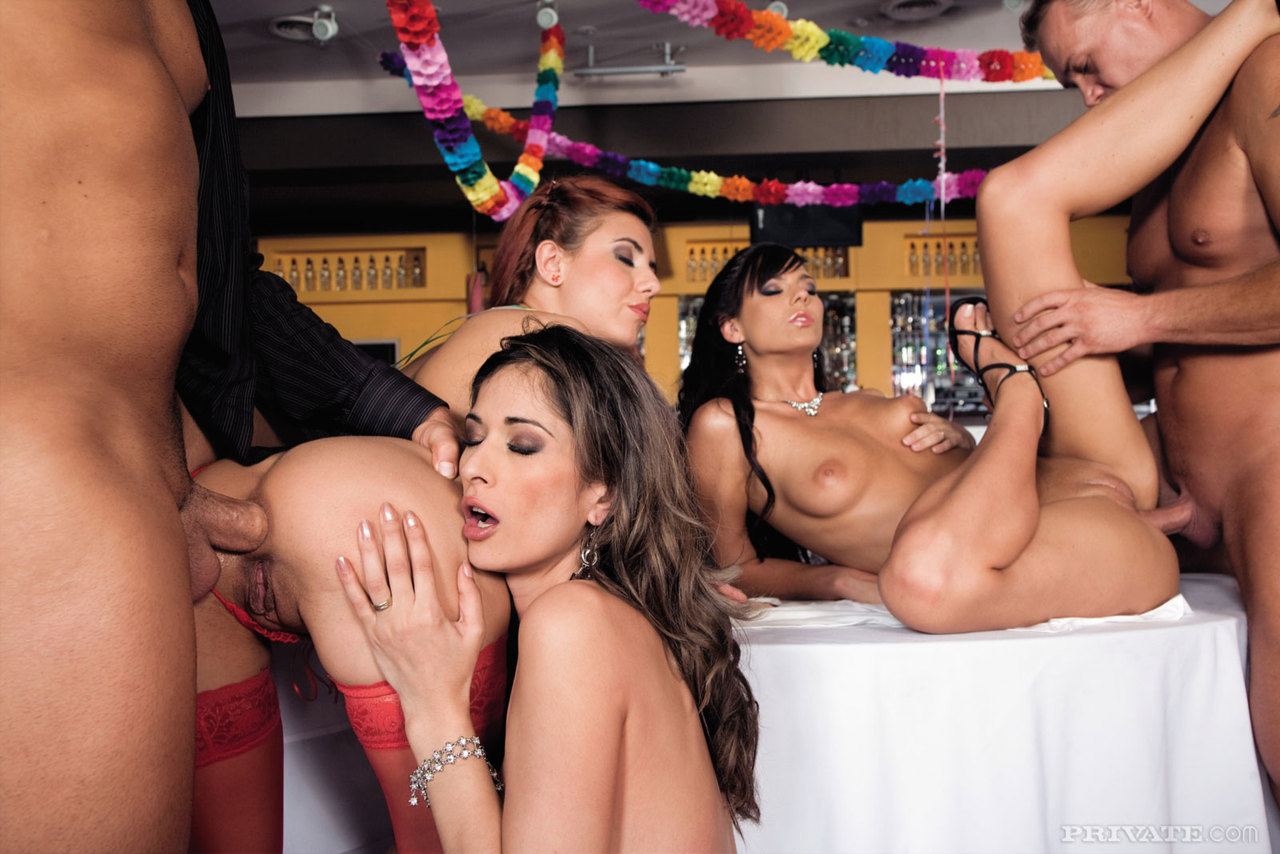 Ass latina party fuck