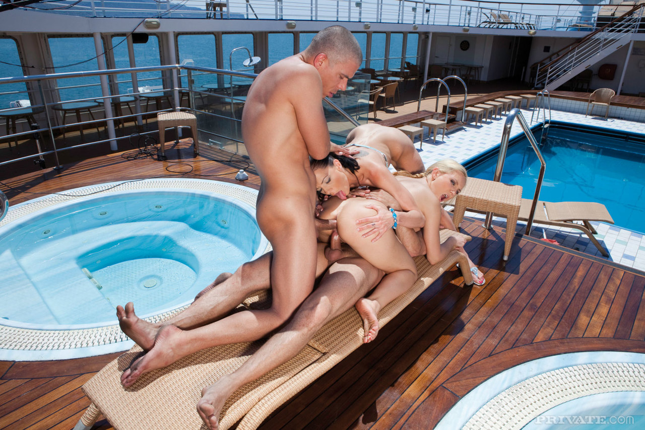 Cruise Ship Swinger Party