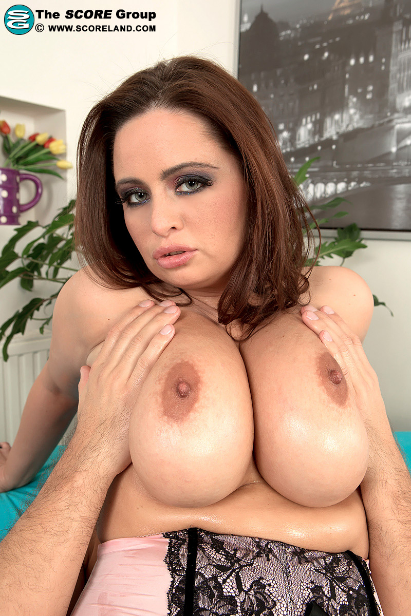 Thick redhead Sirale got her massive breasts and hungry pussy fucked hard