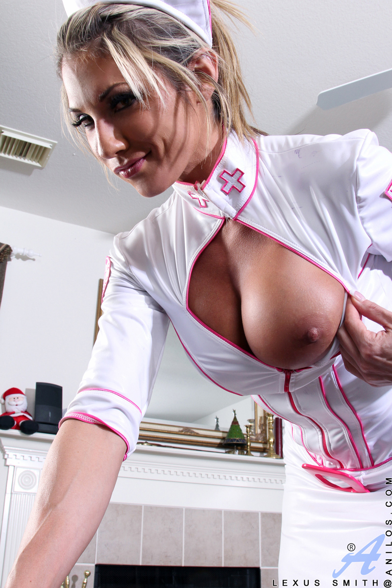 sexy uniform big boobs pussy