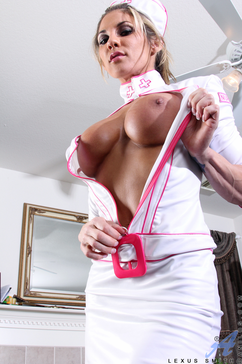 What sexy busty nurse uniform home from