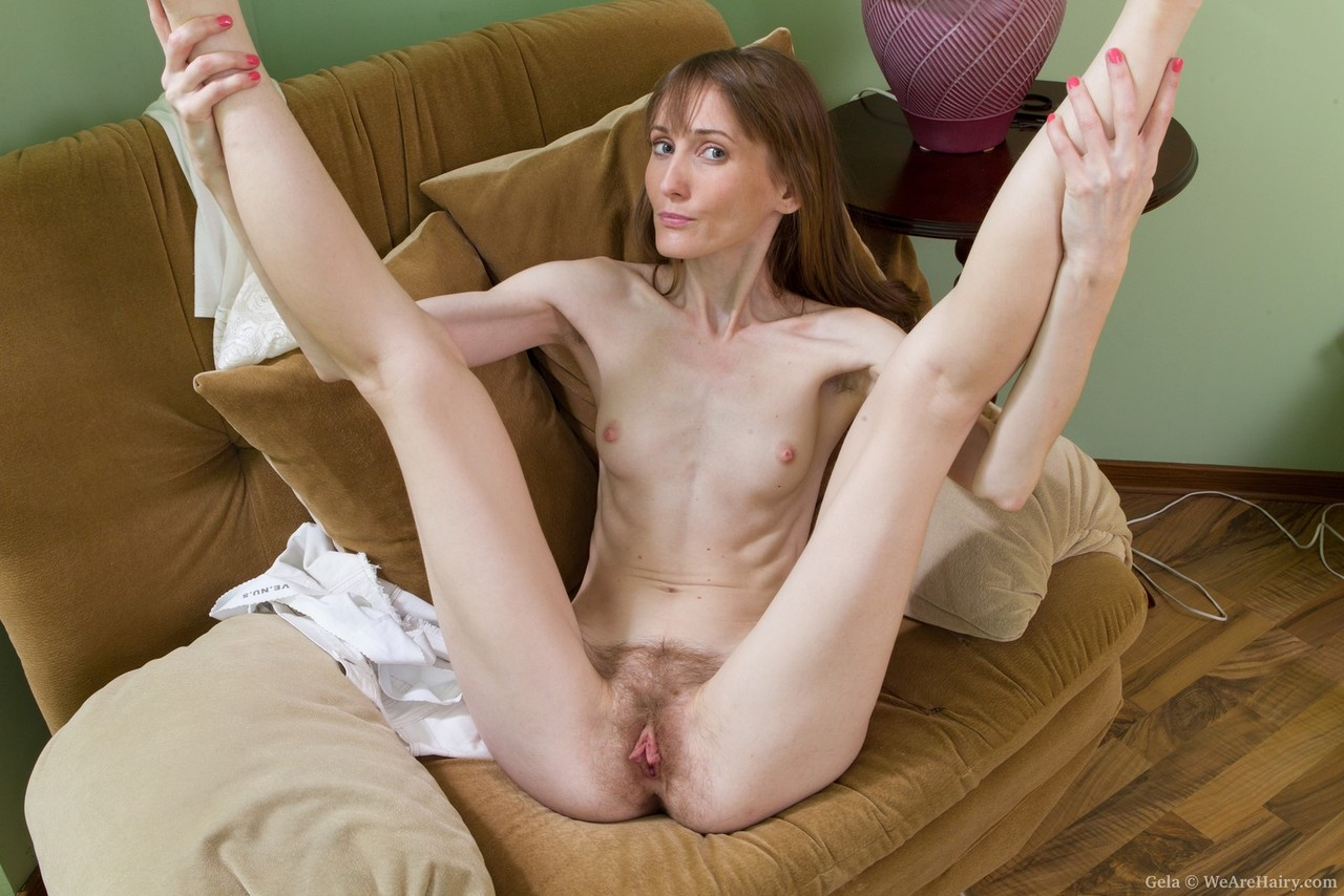 naked skinny white hairy women
