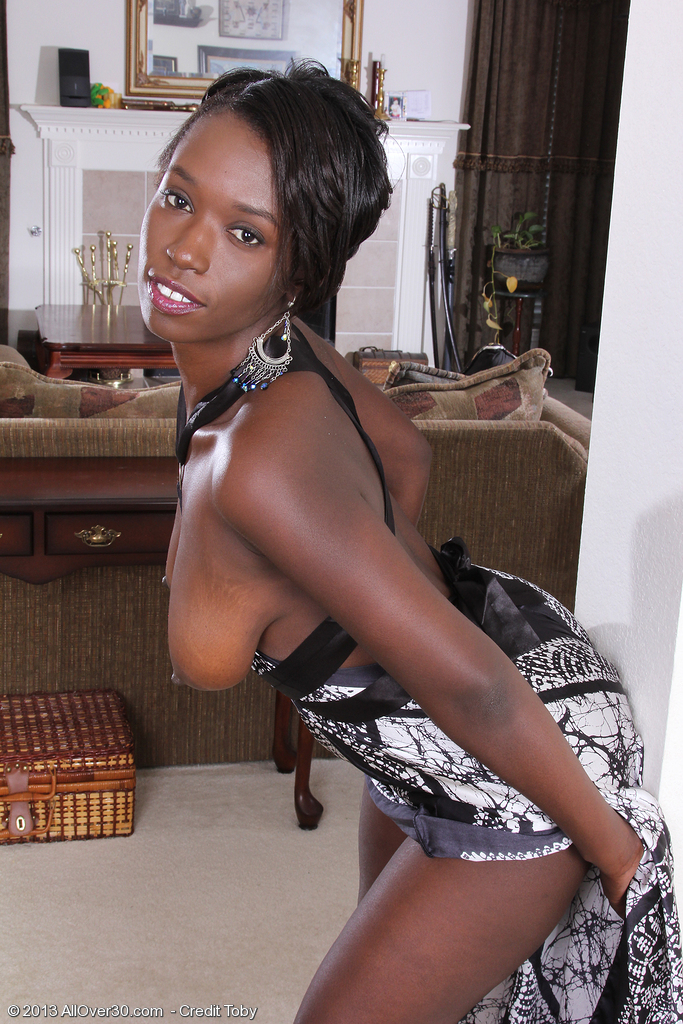 Beautiful ebony milf