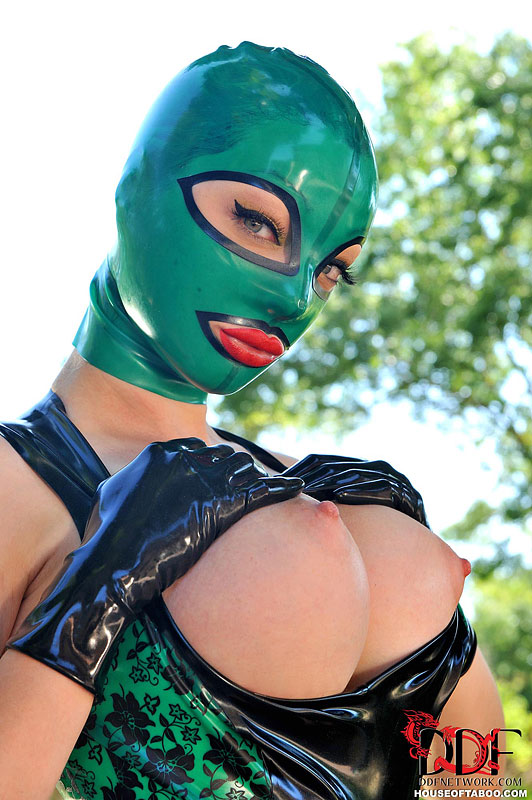 Really. was Huge tits latex think