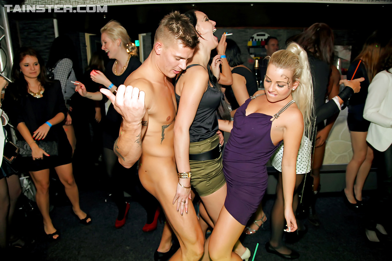 handjob at party