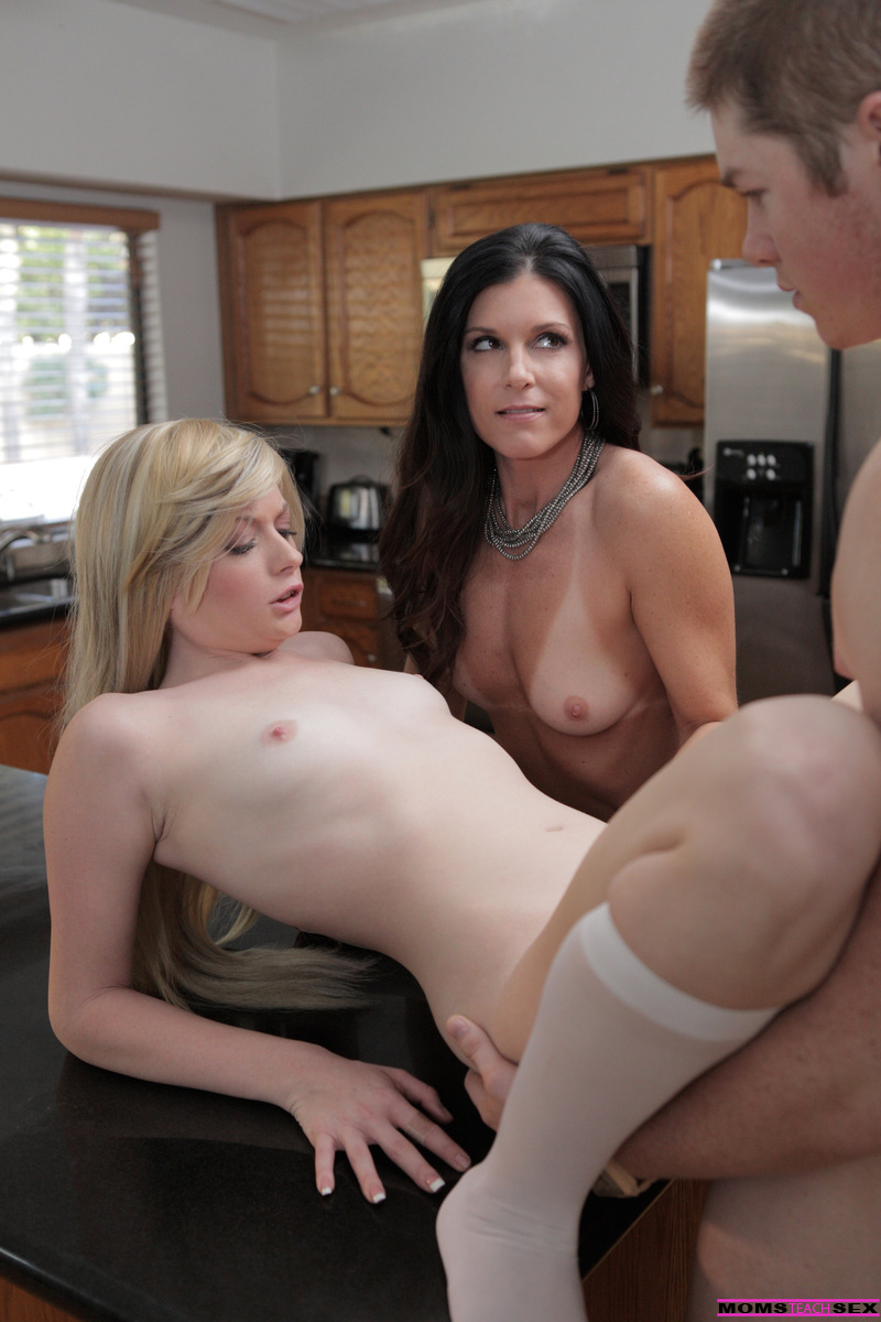 mom teaching fuck gif