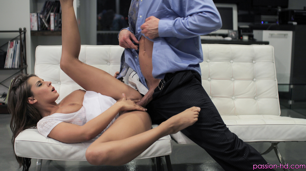 Hardcore slut Madison Ivy is always up for a ball licking pussy pounding fuck