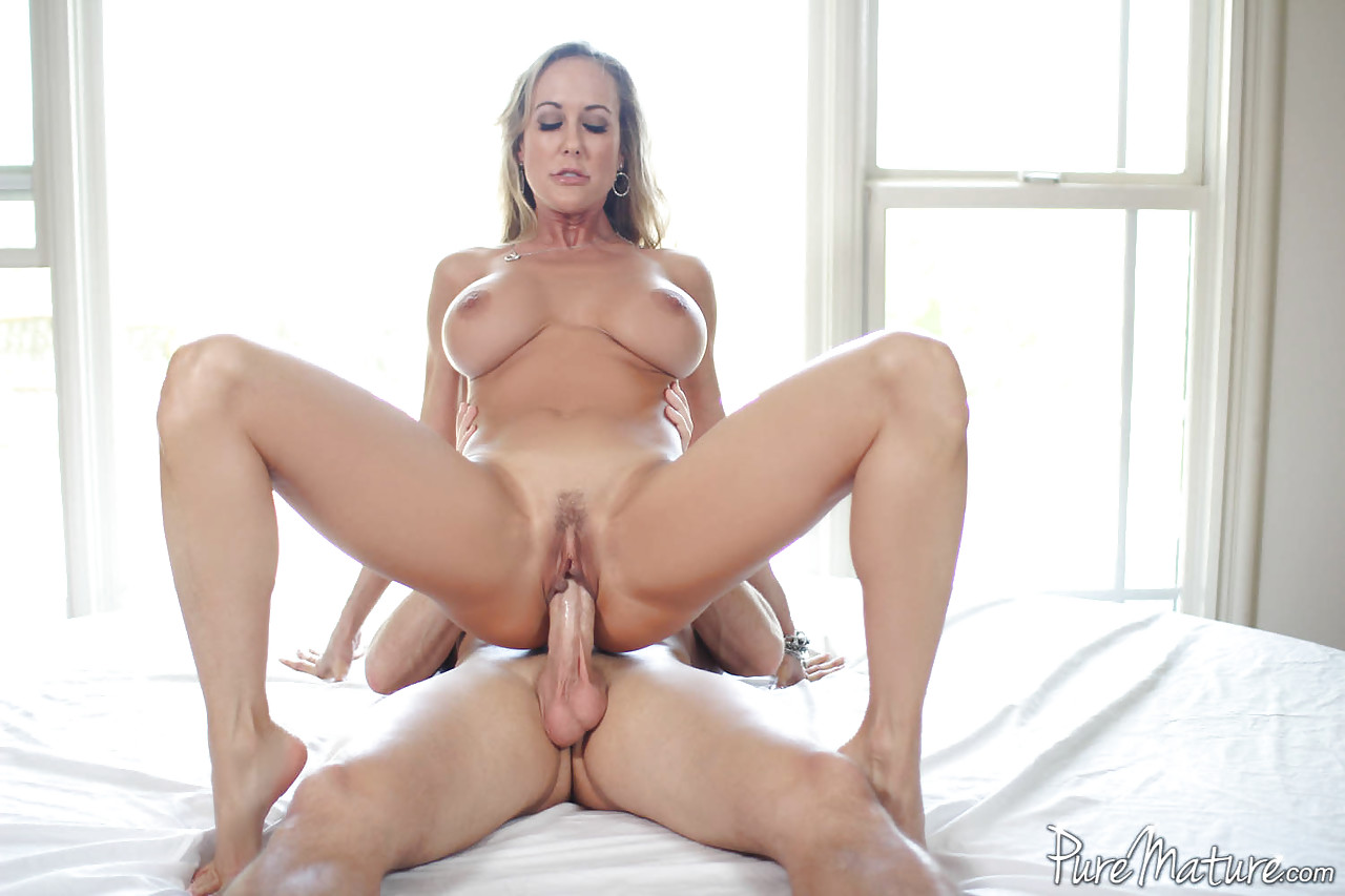 hot milf wife giving blowjob
