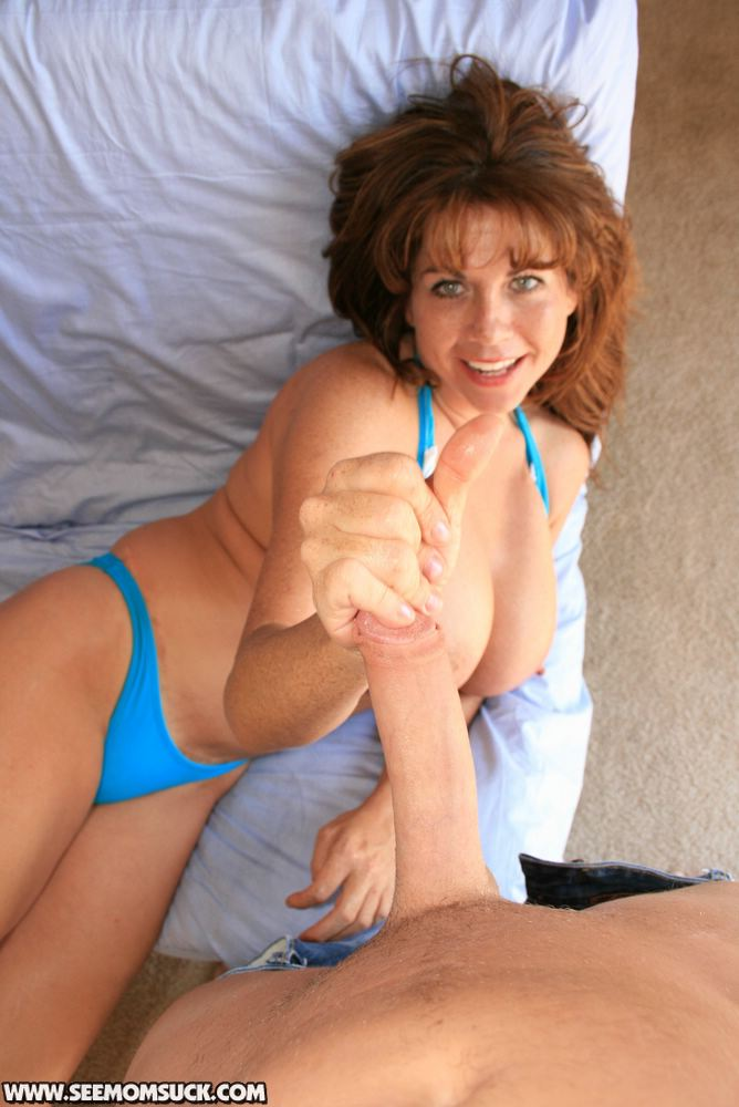 Mature Cougar Pov Blowjob