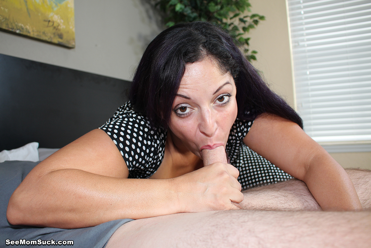 ... Big boobed stepmom has had her eye on her stepsons big dick for some  time now ...