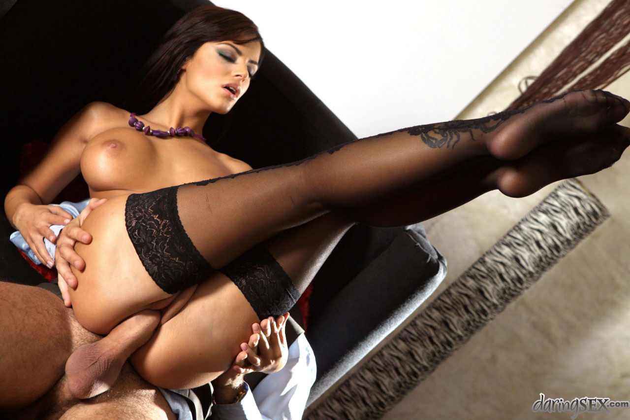 stockings pornstar