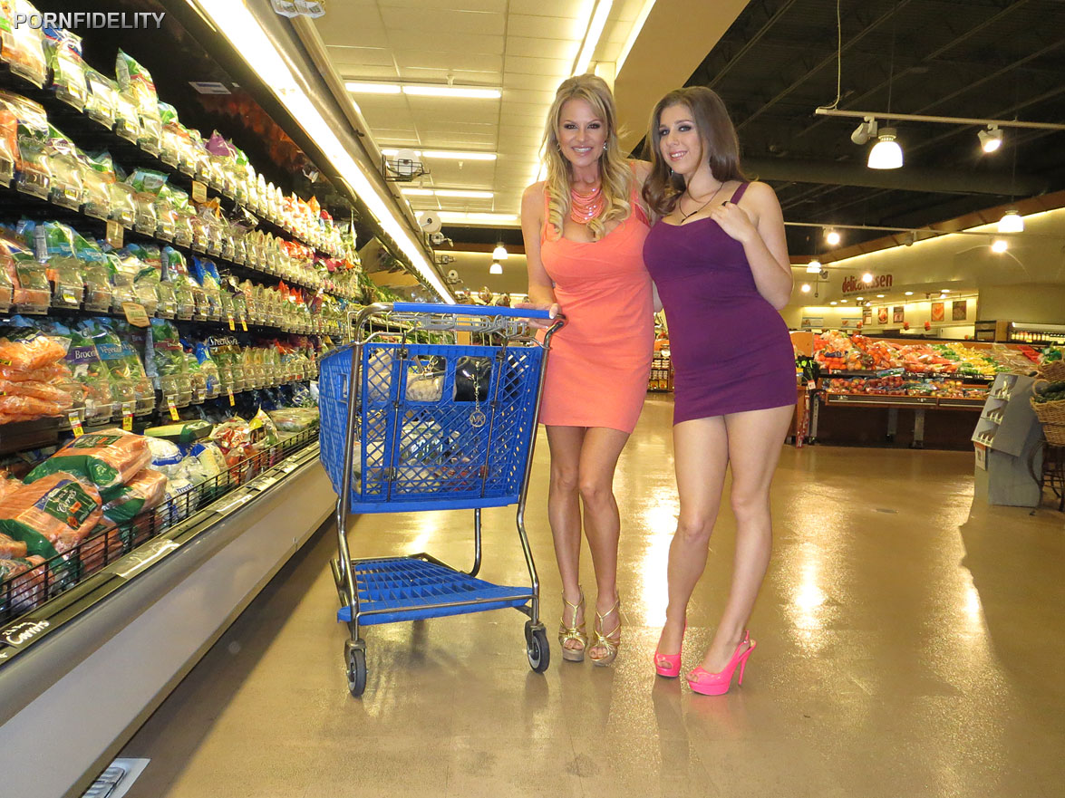 Naked shopping is back and this time it's full frontal