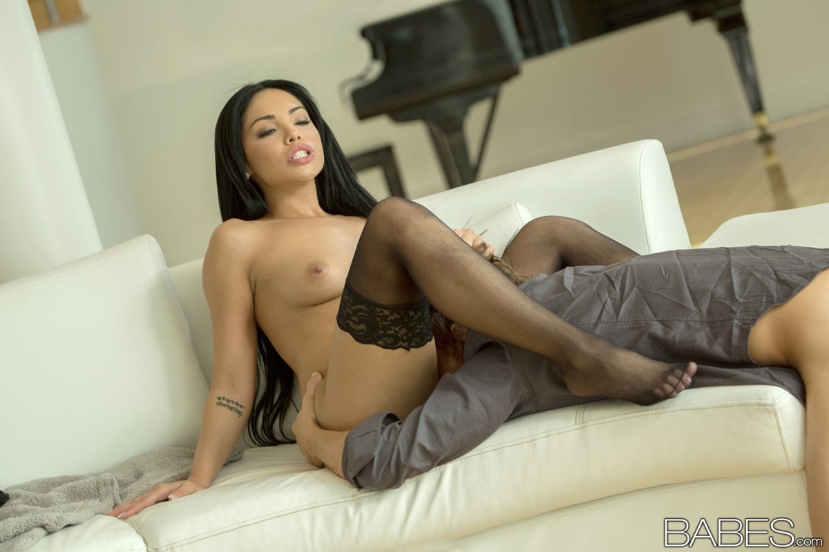 from Grayson sexy latinas in stockings