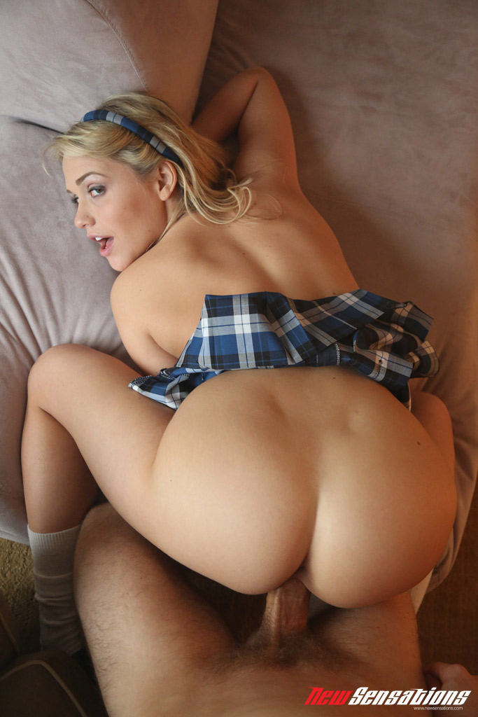 Hot blonde ass fucked