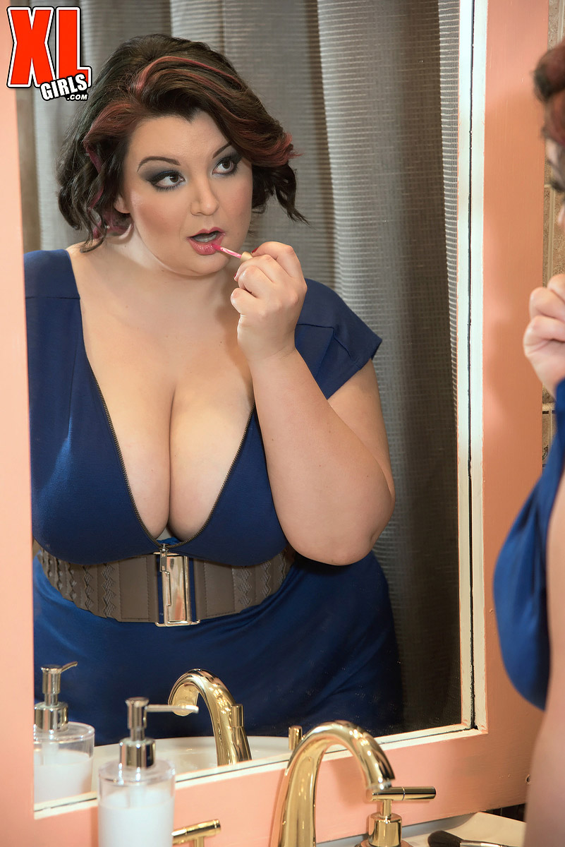 Bbw makeup ass and boobs