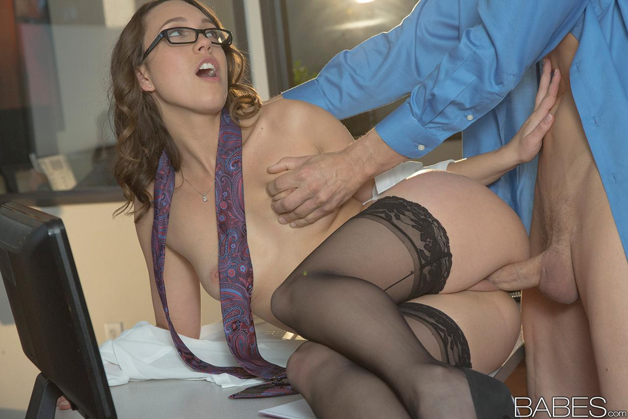Sexy Secretary Gets Fucked