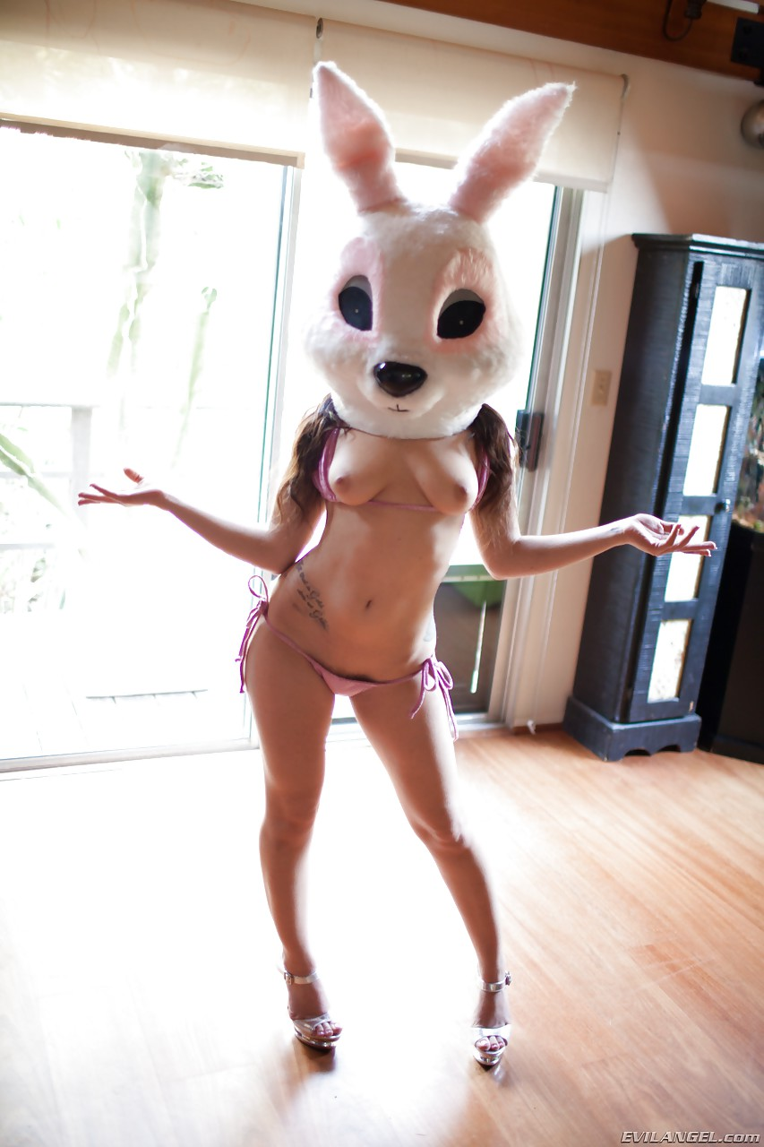 Big bunny head naked regret