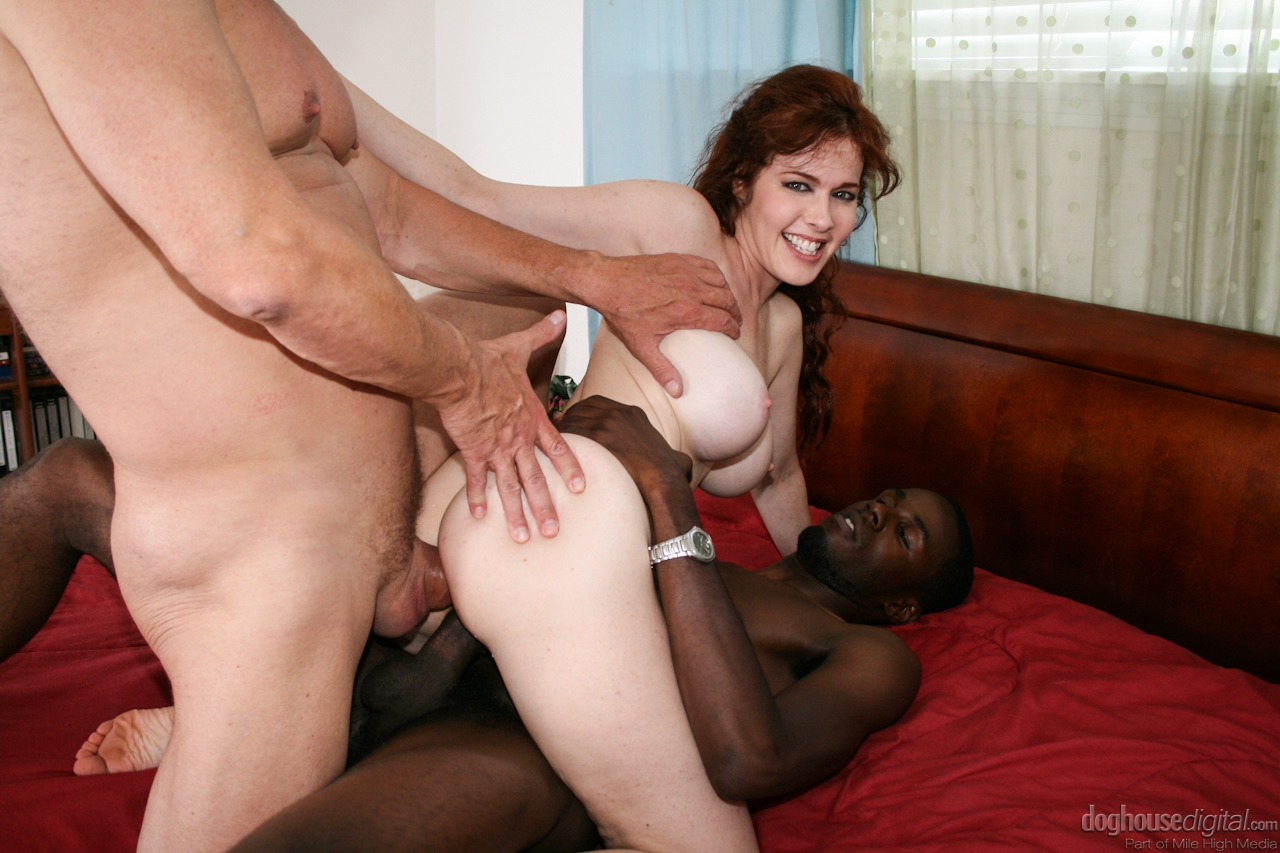 Interracial Mature Anal Latina DP...