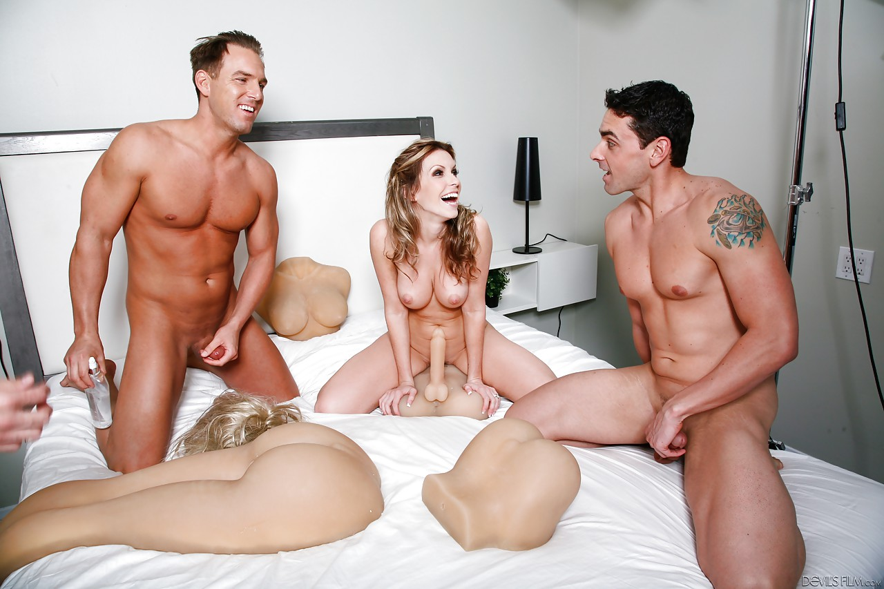 Ryan driller threesome